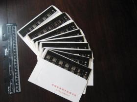 老底片:约八十年代古籍善本宋版《齐民要术》刻本十卷八册(全)的照相底片版