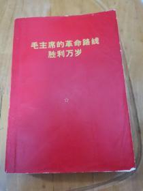 毛主席的革命路线胜利万岁(内有毛林像)