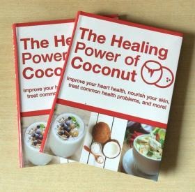 英文The Healing Power of Coconut 椰子的烹饪技巧制作用途美食菜谱【平装160页】