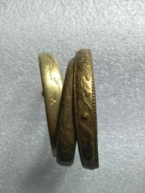 铜手镯三只
