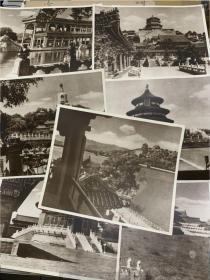 民国老北京照片7张27.5*22.5cm