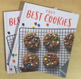 the best cookies 最好的饼干 英文经典饼干制作技巧食谱美食菜谱了【精装本 192页】
