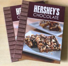 HERSHEY`S CHOCOLATE好时巧克力 英文版美食菜谱烹饪制作技巧方法【精装本 128页】
