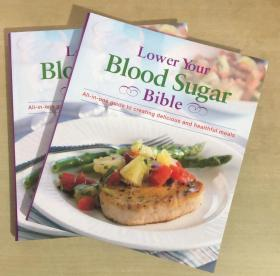 Lower your Blood Sugar Bible降低你的血糖食谱 英文食材配方菜【平装 255页】降血糖膳食料理食谱 英文菜谱