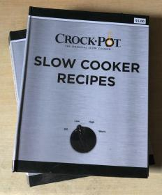 SLOW COOKER RECIPES 慢炖锅食谱 西餐烹饪制作技巧 英文美食菜谱【精装本 128页】