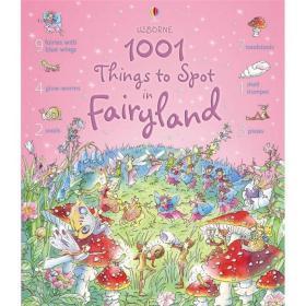 1001 Things to Spot in Fairyland仙境中发现的事情(精装绘本)(3-6)岁