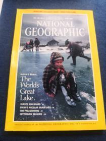 NATIONALGEOGRAPHIC RUSSIA'S BAIKAL The Worlds Great Lake1992  6(美国国家地理  俄罗斯贝加尔湖 ——世界大湖)日落大道  核墓地  潜水乐园  巴勒斯坦人  寒冷刺骨的季节  英文原版