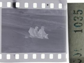 纪实摄影底片1张 童趣 滑冰刀、冰车、冰滑梯系列60