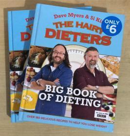 THE HAIRY DIETERS BIG BOOK OF DIETING节食者宝典 英文美食菜谱【精装本 375页】