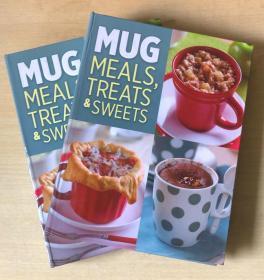 MUG MEALS TREATS SWEETS杯子餐对待糖果 英文美食菜谱烹饪制作【精装本 128页】