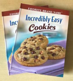 Incredibly easy cookies 饼干食谱 英文美食菜谱烹饪制作方法 【精装本 160页】