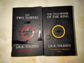 THE FELLOWSHIP OF THE RING、THE TWO TOWERS(英文原版2本合售)