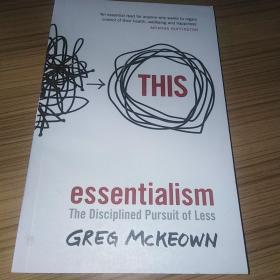 Essentialism:The Disciplined Pursuit of Less