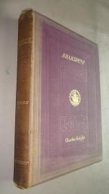 1860年The Comedies of Shakespeare.《莎士比亚喜剧七种》珍贵全插图本  大开本巨册 增补精美彩图 品佳