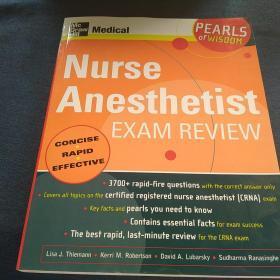 Nurse  Anesthetist        EXAM  REVIEW 护士 麻醉师                   考试复习
