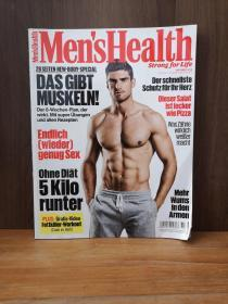 MENSHEALTH   STRONG FOR LIFE. DAS GIBT MUSKELN!2016-10