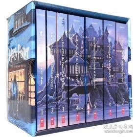 Special Edition Harry Potter Paperback Box Set   哈利波特英文7册
