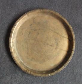 (包老)清代铜盘茶盘文房佳器,更多拍品敬请关注.。