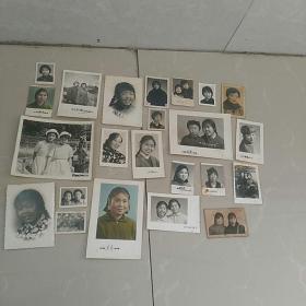照片,文革女青年,23张