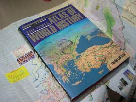 1989年Hammond The Times Atlas of The World 哈蒙德泰晤士世界历史地图集 8开 页数:358
