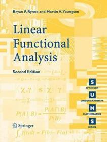 Linear Functional Analysis (springer Undergraduate Mathematics Series)