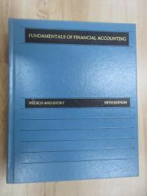 英文书 FUNDAMENTALS  OF  FINANCIAL  ACCOUNTING  精装  共958页