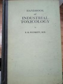 HANDBOOK OF INDUSTRIA L TOXICOLOGY