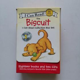 英文原版绘本 汪培珽 I Can Read系列 第一阶段Biscuit 小饼干狗 19册和售【带盒】