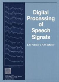 Digital Processing Of Speech Signals (prentice-hall Series In Signal Processing)