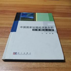 中国国家环境经济安全的政策模拟分析