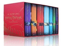 哈利波特英文原版精装 Harry potter box set 1-7 收藏版 JK罗琳小说书藉全套全集哈利波特1与魔法石2密室3阿兹卡班囚徒英文版原著