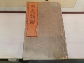 胡氏族谱(江西吉安)(民国木活字版,三大厚册)