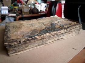 清木刻本    周礼精华    六卷六册全  大开本   但书有见水  有粘连  不会整理  会的可以练手  标本价出  品如图