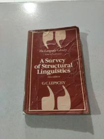 A Survey of structural linguistics:结构语言学概论