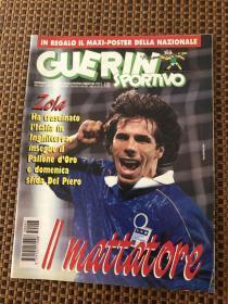 原版足球杂志 意大利体育战报1995 47期 附意大利国家队双面大开海报