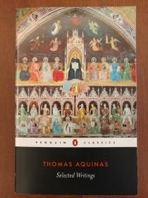 Thomas Aquinas: Selected Writings(进口原版,国内现货)