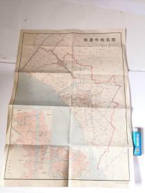 南通市地名图
