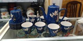 567瓷器,80年代山东国营烟台瓷厂茶具一套