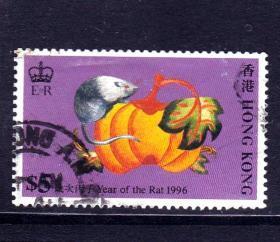 香港邮票鼠年
