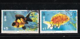 香港邮票金鱼