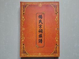 杨氏家谱 系列(另一种版本):《杨氏宗祠族谱》