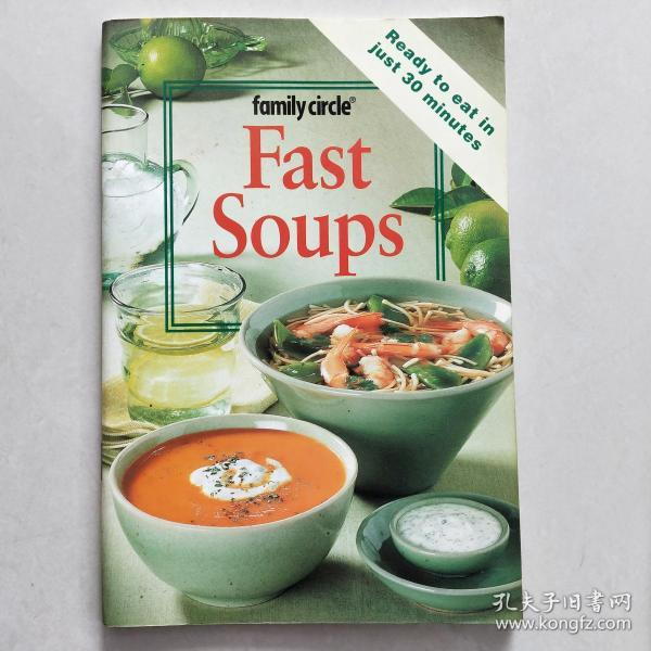 Fast Soups (The Hawthorn Series) Fast Soups