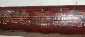 旧藏漆器古琴〔J4〕,工艺精湛。可以正常使用,琴音婉转动听,余音绕梁