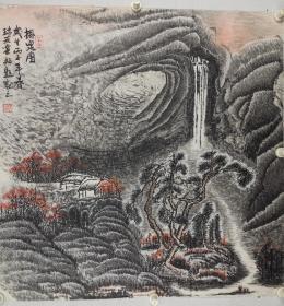 刘瑞友    1951年生,毕业于首都师范大学美术学院。画家,高级职称,国家一级美术师。 现为中国书画印研究院教授,中国书画协会会员、中国书画艺委会员、中国收藏家协会会员、中国扇子艺术学会会员。其绘画作品涉及山水、花卉、禽鸟等,不但题材广泛,而且技艺精湛。他的山水画构图讲究,皴法多变,又不拘泥于传统的表现形式。其代表作《燕山魂》构图更是独具匠心,画面上山水相间,山由石成,山石相抱。清泉石上流