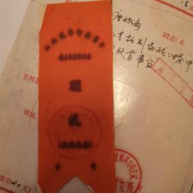 江西省革命委员会成立观礼台布标