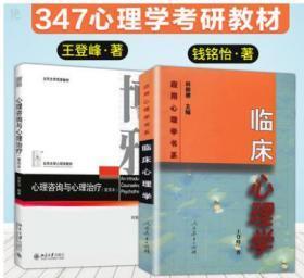 临床心理学 王登峰 心理咨询与心理治疗钱铭怡 重排本