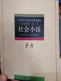 中国现代名作家名著珍藏版社会小说
