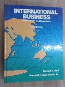英文书     INTERNATIONAL BUSINESS  共897页   精装本