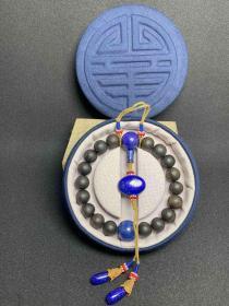 旧藏   沉香念珠   古玩古玉收藏   尺寸1.2公分