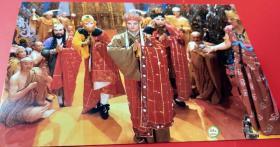 1988老版原版《西游记——师徒四人成佛孙悟空猪八戒沙和尚唐僧》杨洁电视剧正规老片邮政明信片正版 包老包真 原汁原味